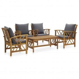 atgāžams krēsls, brūns audums
