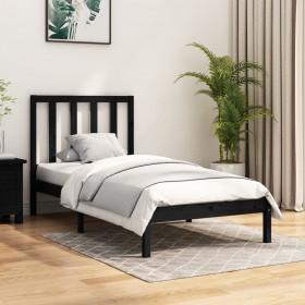 gultas rāmis, balts, priedes masīvkoks, 140x200 cm