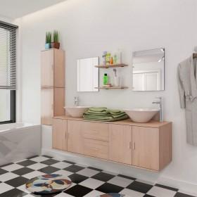 Ziemassvētku egle ar statīvu un LED lampiņām, 210 cm, 280 zari