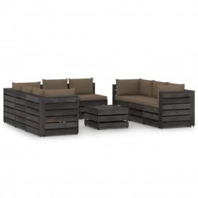 divpusējs sienas pulkstenis, 20 cm
