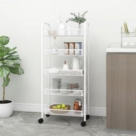 dārza puķu kaste, 100x40x45 cm, cinkots tērauds, pelēka