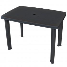 dārza puķu kaste, 129x129x77 cm, cinkots tērauds, pelēka