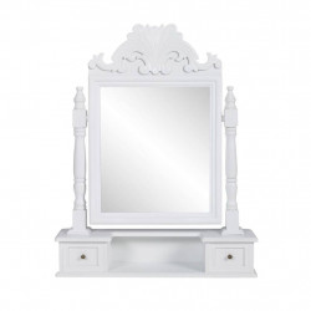 spoguļgaldiņš, taisnstūra spogulis, MDF