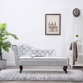 Dīvāns Chesterfield Sudraba