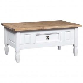 atpūtas krēsls ar kāju soliņu, brūna mākslīgā āda