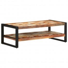 kafijas galdiņš, 100x40x40 cm, ozolkoka krāsā, skaidu plāksne