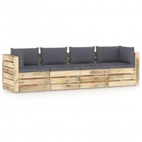 mugursoma, 65 L, zaļa, armijas stila
