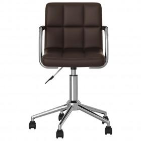 vidaXL bērnu gultas aizsargbarjera, pelēkbrūna, 150x42 cm, poliesters