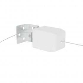 vidaXL bērnu gultas aizsargbarjera, rozā, 120x42 cm, poliesters