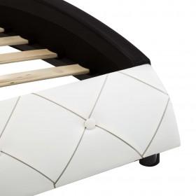 Divpusējs gultas pārklājs 220 x 240 cm, melni pelēks, stepēts