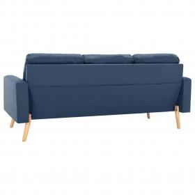 atpūtas krēsls ar matraci, krēmkrāsas audums