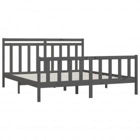 8-daļīgs dārza atpūtas mēbeļu komplekts ar matračiem, pelēks PE