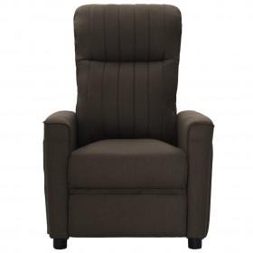 gulta ar hidraulikas mehānismu un LED, tumši pelēks audums