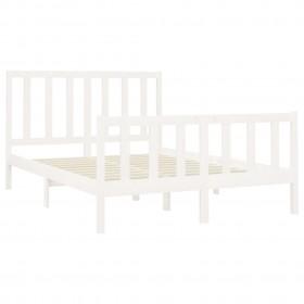 CD skapītis, 21x16x88 cm, skaidu plāksne, spīdīgi balts