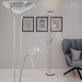 regulējama LED stāvlampa, 23 W