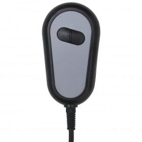 biroja skapis ar 2 durvīm, 90x40x180 cm, pelēks tērauds