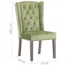 vidaXL paklājs, 160x230 cm, pelēka dabīgā āda, dimantu tekstilmozaīka