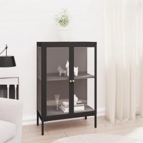 skapītis ar 9 plauktiem, kvadrāta forma, balts ar melnu