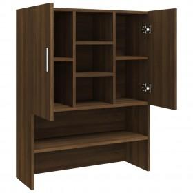 virtuves krēsli, 2 gab., melni, izliekts koks un mākslīgā āda
