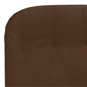virtuves krēsli, 6 gab., zils samts