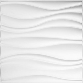 WallArt 3D sienas paneļi GA-WA04, 24 gab., vilņu tekstūra