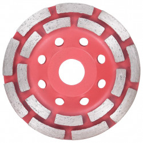 dimanta slīpripa, 2 rindu segmenti, 115 mm