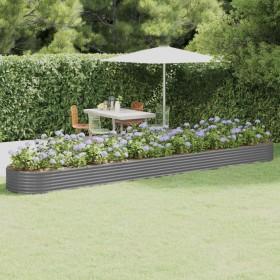 dārza puķu kaste, 160x60x44 cm, akācijas masīvkoks