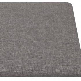 8-daļīgs dārza atpūtas mēbeļu komplekts ar matračiem, melns PE