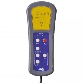 aptumšojošs aizkars ar iestrādātiem riņķiem, 270x245 cm, brūns