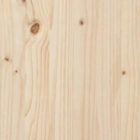 konsoles galdiņš, 3 atvilktnes, pārstrādāts koks