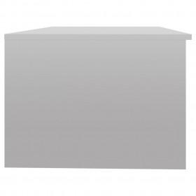 5-daļīgs dārza atpūtas mēbeļu komplekts ar matračiem, pelēks PE