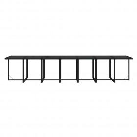 mozaīkas galdiņš, sarkanbrūns ar baltu, keramika
