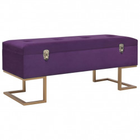sols ar kasti, 105 cm, violets samts