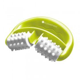 gultas rāmis ar LED, pelēka mākslīgā āda, 100x200 cm