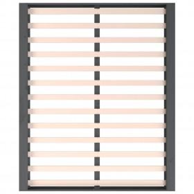 biroja skapis, balts, 60x32x190 cm, skaidu plāksne