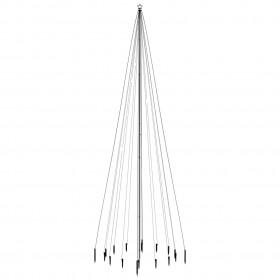 mākslīgais bambuss ar podiņu, 160 cm, zaļš