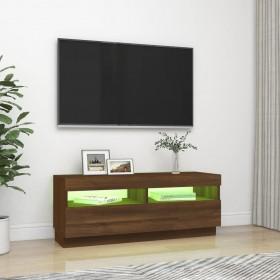 griestu lampa ar 2 starmešiem, E14, melna ar vara brūnu