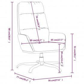Ēdamistabas Galds ar 6 Melniem Krēsliem