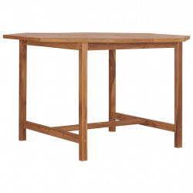 dārza galds, 120x120x75 cm, masīvs tīkkoks
