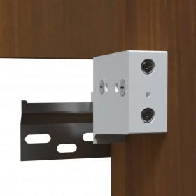 kāpņu paklāji, 15 gab., pelēki, 56x20 cm