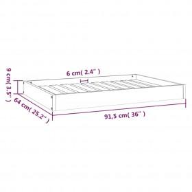 CD skapītis, 21x16x88 cm, skaidu plāksne, balts