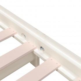 dārza krēsli ar spilvenu, 2 gab., balti, plastmasas pinums