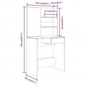 biroja krēsls, antracītpelēka mākslīgā āda