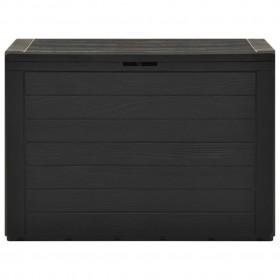 dārza gulta, brūna, 200x90 cm, tērauds