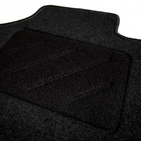 vidaXL izlietne, 45x30x15 cm, melns upes akmens