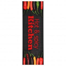 Gumijas Paklājs ar Neslidenu Rievotu Virsmu 2 x 1 m