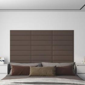 gulta ar atmiņas efekta matraci, mākslīgā āda, 120x200 cm