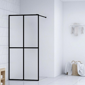dušas siena, rūdīts stikls, 90x195 cm