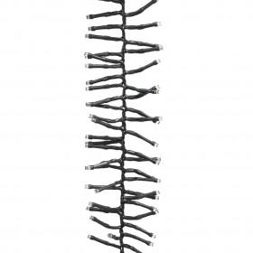 dušas siena, rūdīts stikls, 80x195 cm