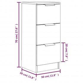 kafijas galdiņš, apaļš, pārstrādāts tīkkoks